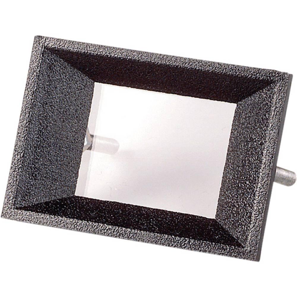 Frontramme Sort Passer til: LC-display 2-cifret ABS Strapubox AR 2