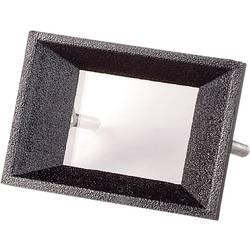 Sprednji okvir, črni, primeren za: LCD zaslon, 2-stellig ABS Strapubox AR 2