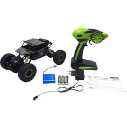 Amewi 22194 Conqueror 1:18 RC začetniški model avtomobila na električni pogon, Crawler pogon na vsa kolesa