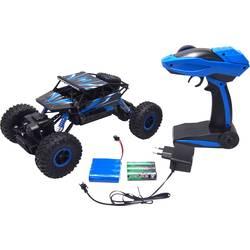 Amewi 22196 Conqueror 1:18 RC začetniški model avtomobila na električni pogon, Crawler pogon na vsa kolesa