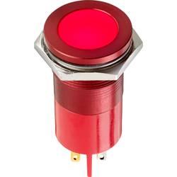 LED signalna lučka, zelena, ravna 12 V/AC, 12 V/DC 9.0 V APEM