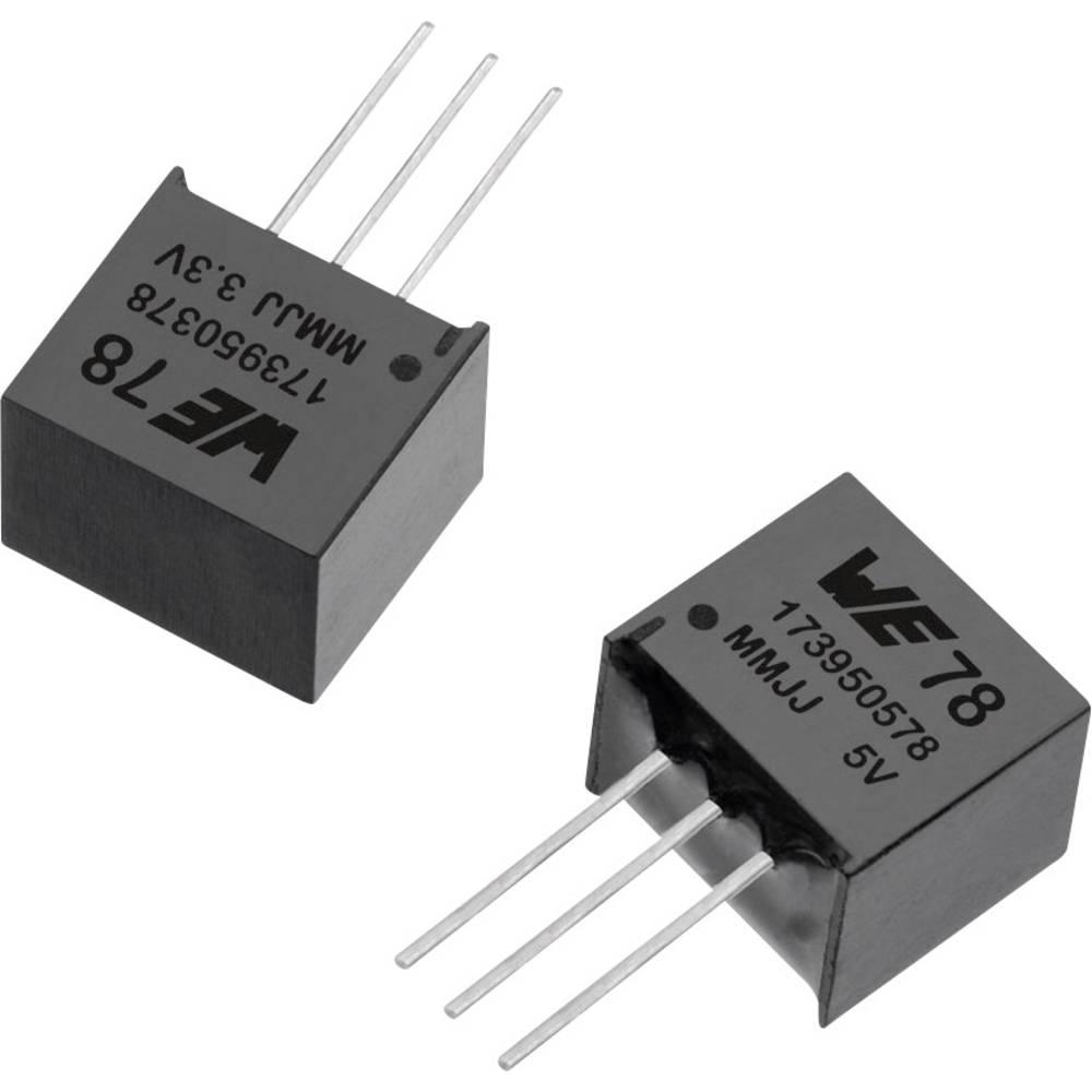 DC/DC pretvornik SMD Würth Elektronik 3.3 V/DC 0.5 A število izhodov: 1 x