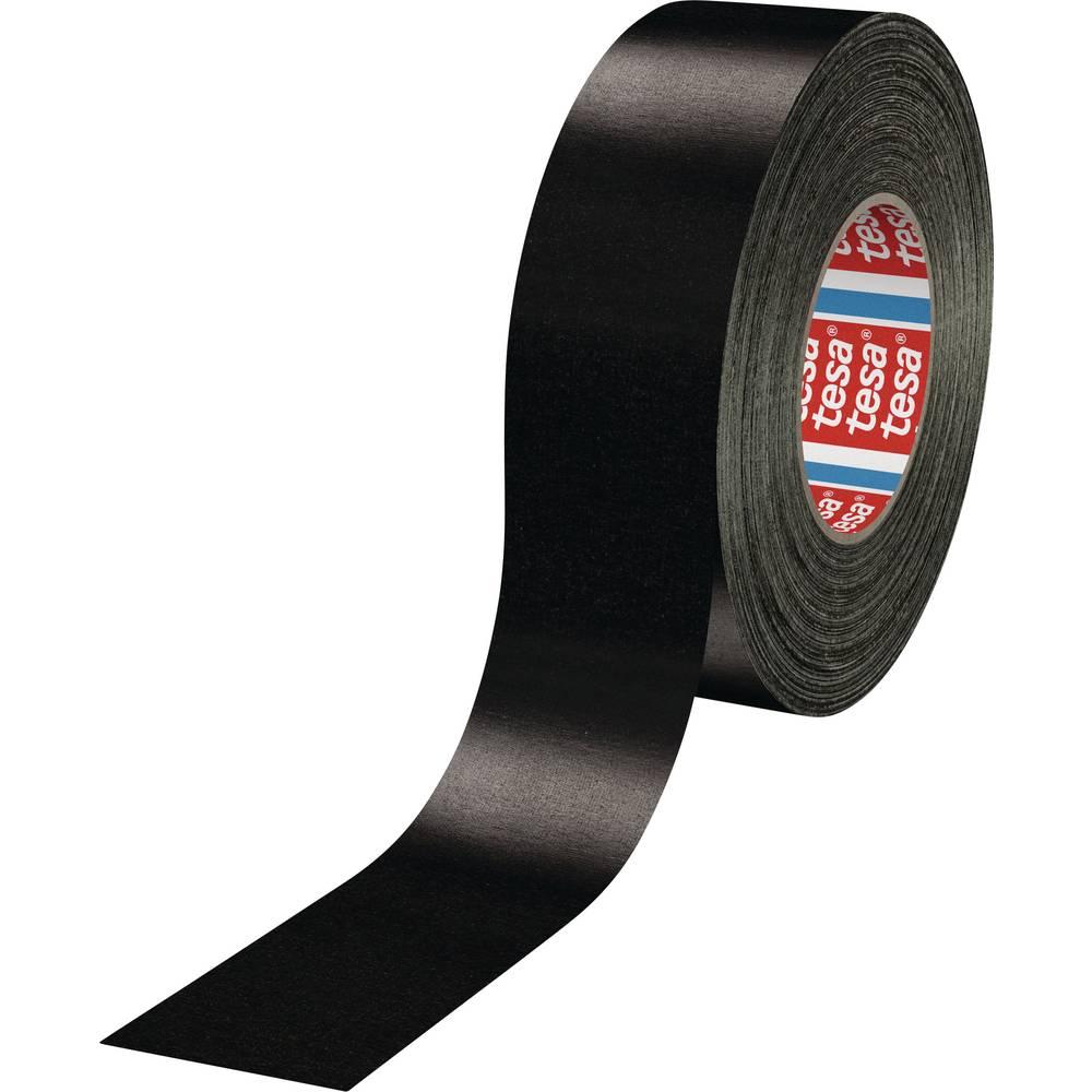 Močen lepilni trak TESA Tesa® Extra Power črne barve (D x Š) 50 m x 50 mm iz kavčuka, vsebina: 1 rola