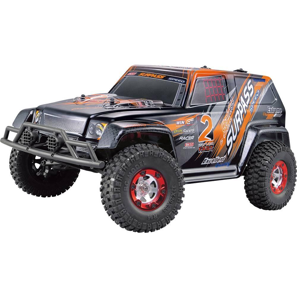 Amewi Charge Extreme Brushed 1:12 RC model avtomobila na električni pogon, Monstertruck pogon na vsa kolesa RtR 2,4 GHz