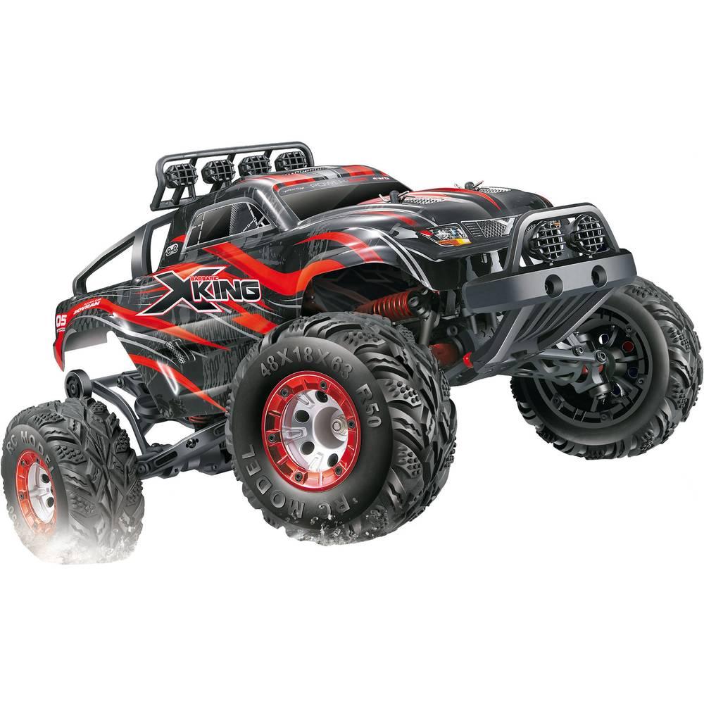 Amewi X-King Brushed 1:12 RC model avtomobila na električni pogon, Monstertruck pogon na vsa kolesa RtR 2,4 GHz