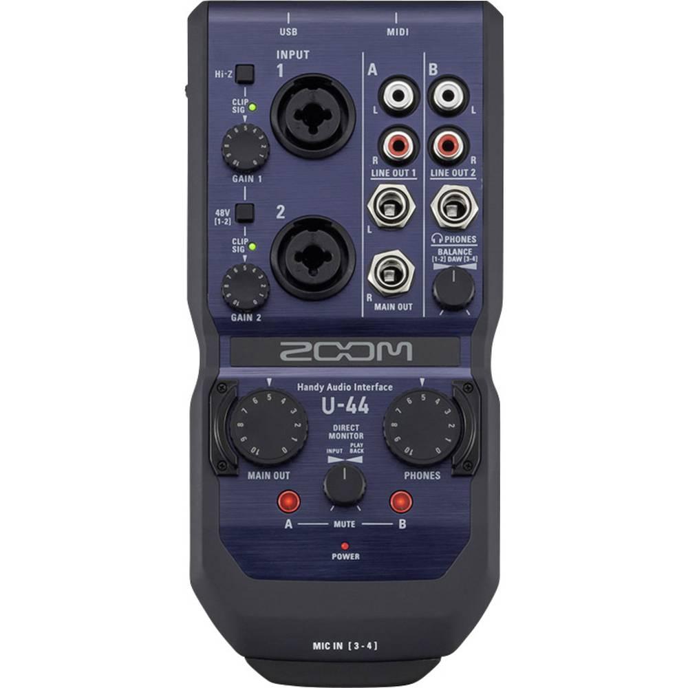 Avdio vmesnik Zoom U-44 vklj. software, Monitor-Controlling