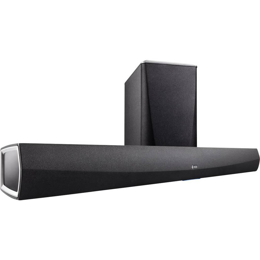 Soundbar Denon HEOS Home Cinema črna vklj. brezžični nizkotonski zvočnik, WLAN