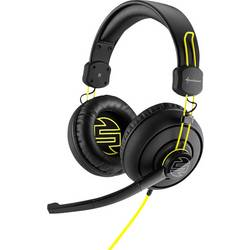 Gaming-headset Sharkoon SharkZone H10 Over Ear Svart-gul