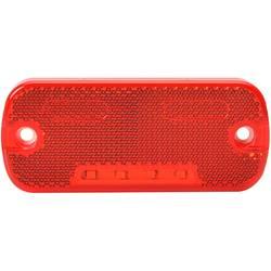 LED odsevna markirna luč z odprtimi kabelskimi konci 12 V, 24 V rdeče barve SecoRüt