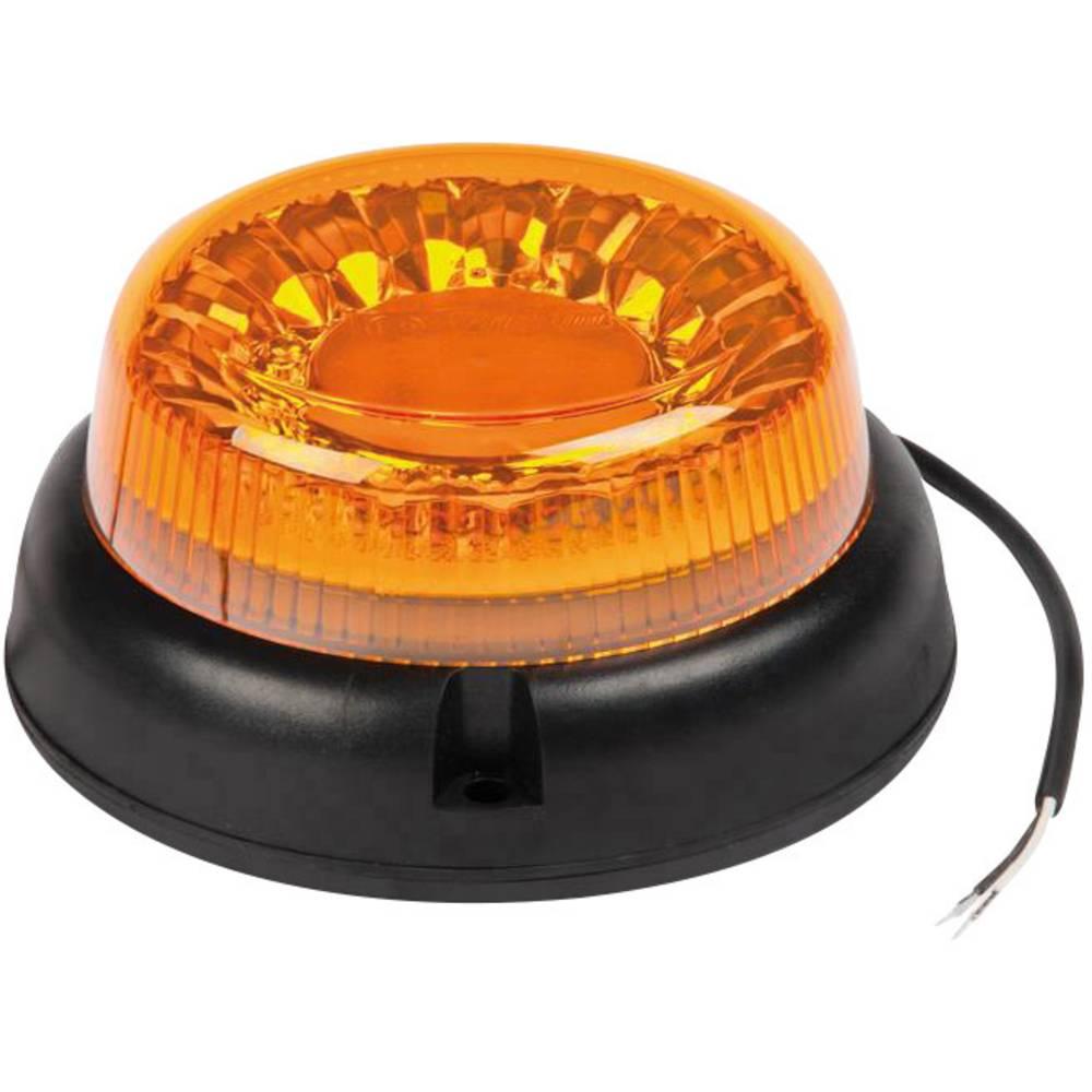 Okrogla luč LED 12 V, 24 V, 40 V vijačna montaža, oranžne barve SecoRüt