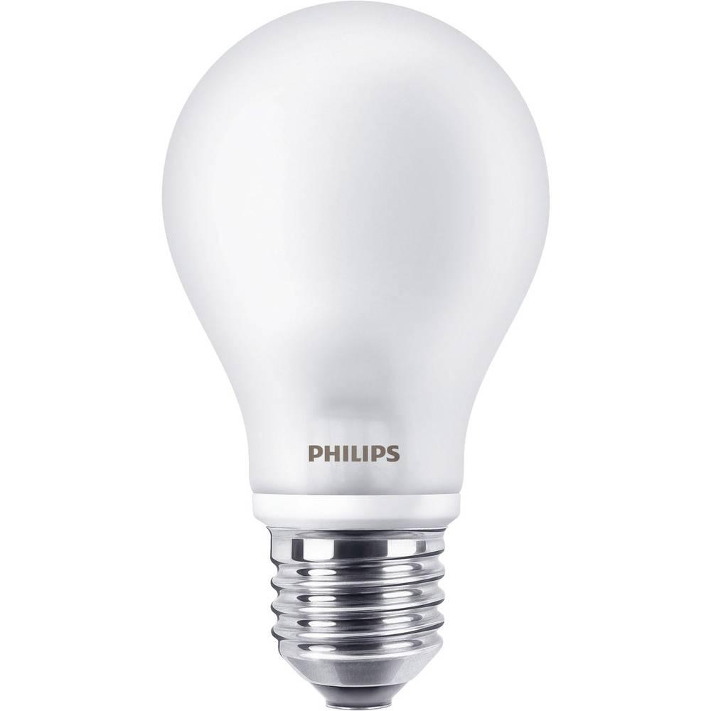 LED žarnica E27 klasična oblika 7 W = 60 W topla bela (premer x D) 60 mm x 110 mm energ. razred: A++ Philips Lighting žarilna ni