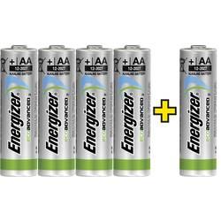 Mignon (AA)-baterija alkalij-manganova Energizer Eco-Advanced 4 +1 gratis 1.5 V 5 kosov