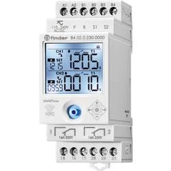 Višefunkcijski vremenski relej SMARTimer 84.02 s NFC Finder 84.02.0.230.0000 90 - 264 V/AC 2 preklopni 16 A maks. 400 V/AC maks.