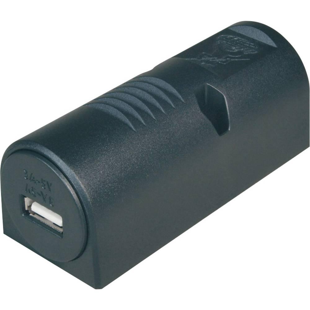 ProCar nadometna-Power USB vtičnica 3 A največji tok maks.=3 A primeren za USB-A