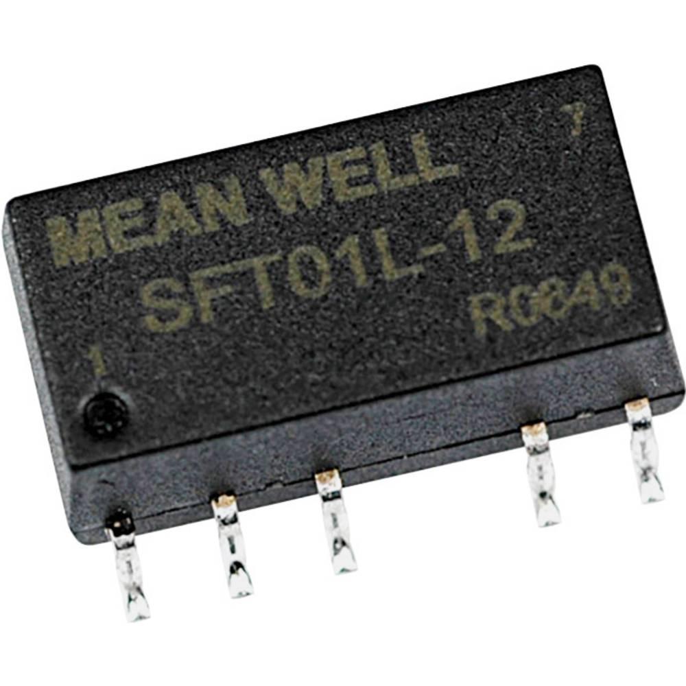 DC/DC pretvornik SMD Mean Well impulzni 5 V/DC 12 V/DC 84 mA 1 W št. izhodov: 1 x
