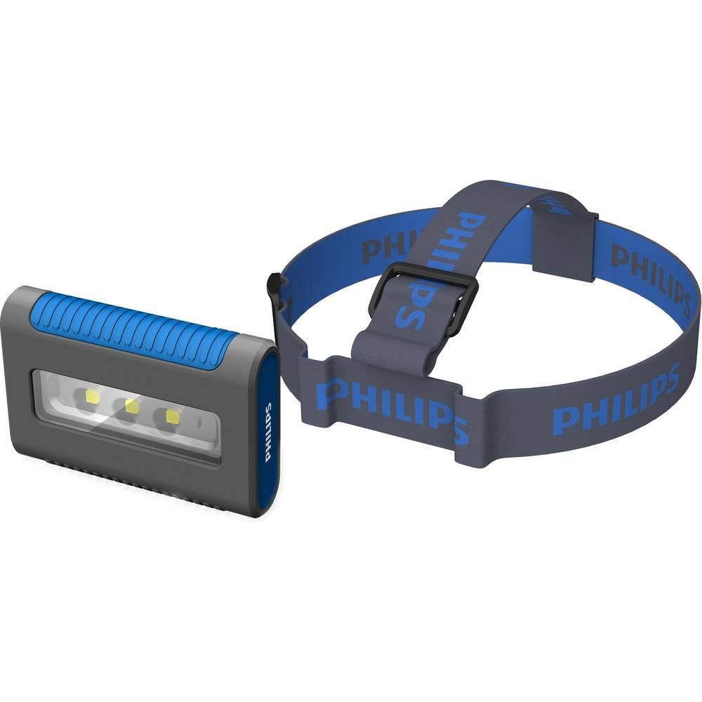 SMD-LED radno svjetlo, baterijsko napajanje Philips LED radno svjetlo i reflektor RCH6 70 lm, 130 lm do 4,5 h (Eco Modus) siva,
