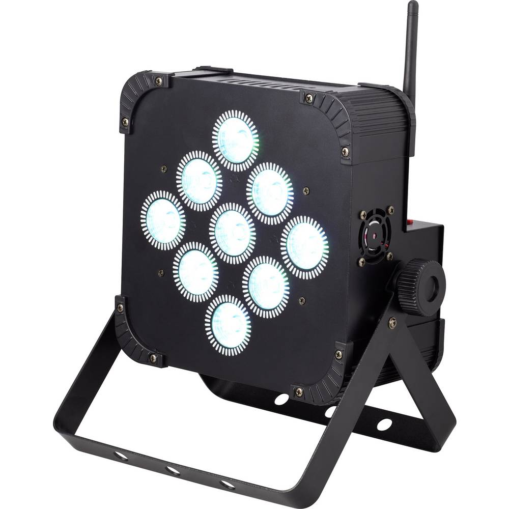 LED-PAR reflektor renkforce št. LED diod: 9 x 8 W
