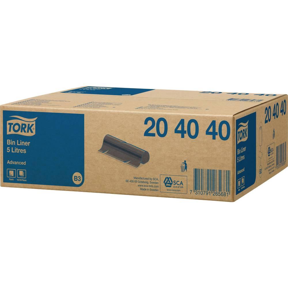 Vrečke za smeti 5 l TORK Advanced črna 1000 kos