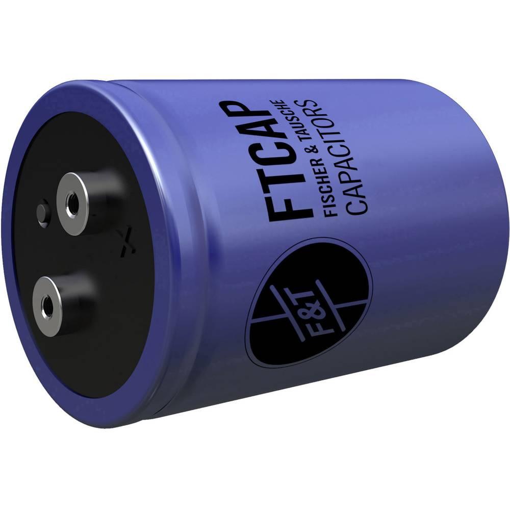 Elektrolitski kondenzator, vijčani priključak 10000 µF 100 V (promjer x V) 50 mm x 80 mm F & T GMA10310050080 1 kom.
