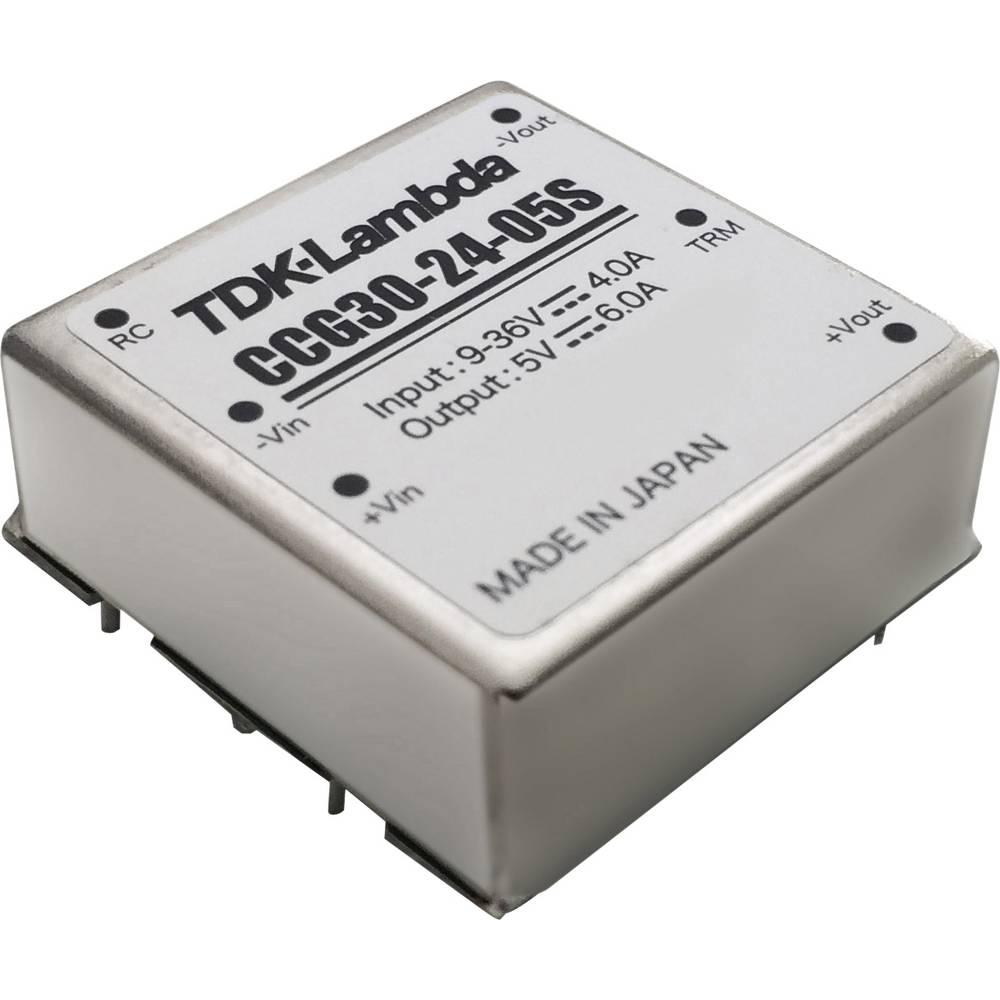 DC/DC pretvornik za tiskano vezje TDK-Lambda CCG-30-24-03S 3.3 V 7 A 23.1 W št. izhodov: 1 x