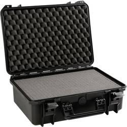 Perel Outdoor trdi kovček (Š x V x G) 464 x 176 x 366 mm črne barve HC430S