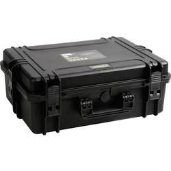Perel Outdoor trdi kovček (Š x V x G) 555 x 211 x 428 mm črne barve HC505S
