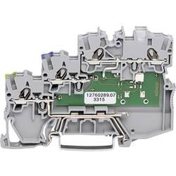 Aktuatorska sponka 7 mm z natezno vzmetjo, siva WAGO 2000-5317/1102-950 50 kosov