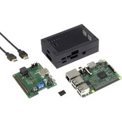 Raspberry Pi 3 Modell B Wide Range USV-Set 1 GB Noobs inkl. OS Noobs, inkl. hölje, inkl. mjukvara