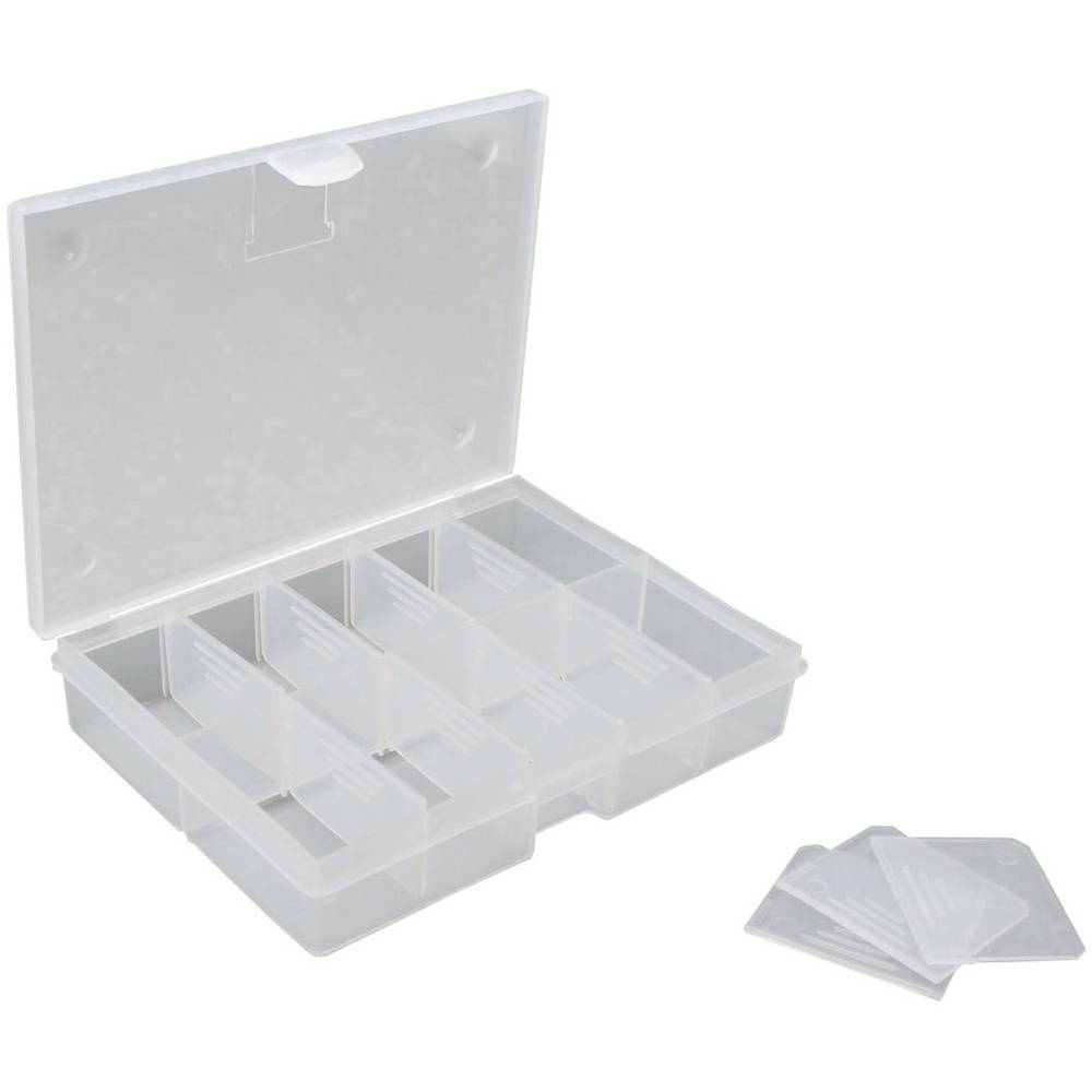 Sortirna škatla (D x Š x V) 130 x 100 x 30 mm VISO št. predalov: 10