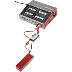 Multifunktionsladdare 12 V, 230 V 12 A VOLTCRAFT V-Charge 240 Quadro LiPo, LiFePO, LiIon, LiHV, NiCd, NiMH, Bly