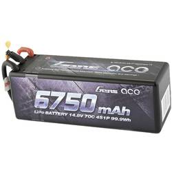 Modelarski akumulatorski komplet (LiPo) 14.8 V 6750 mAh 70 C Gens ace Hardcase T-vtični sistem