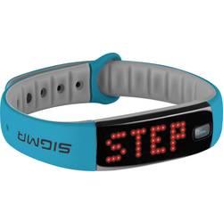 Fitness-senzor Sigma ACTIVO velikost:=univerzalna modre barve