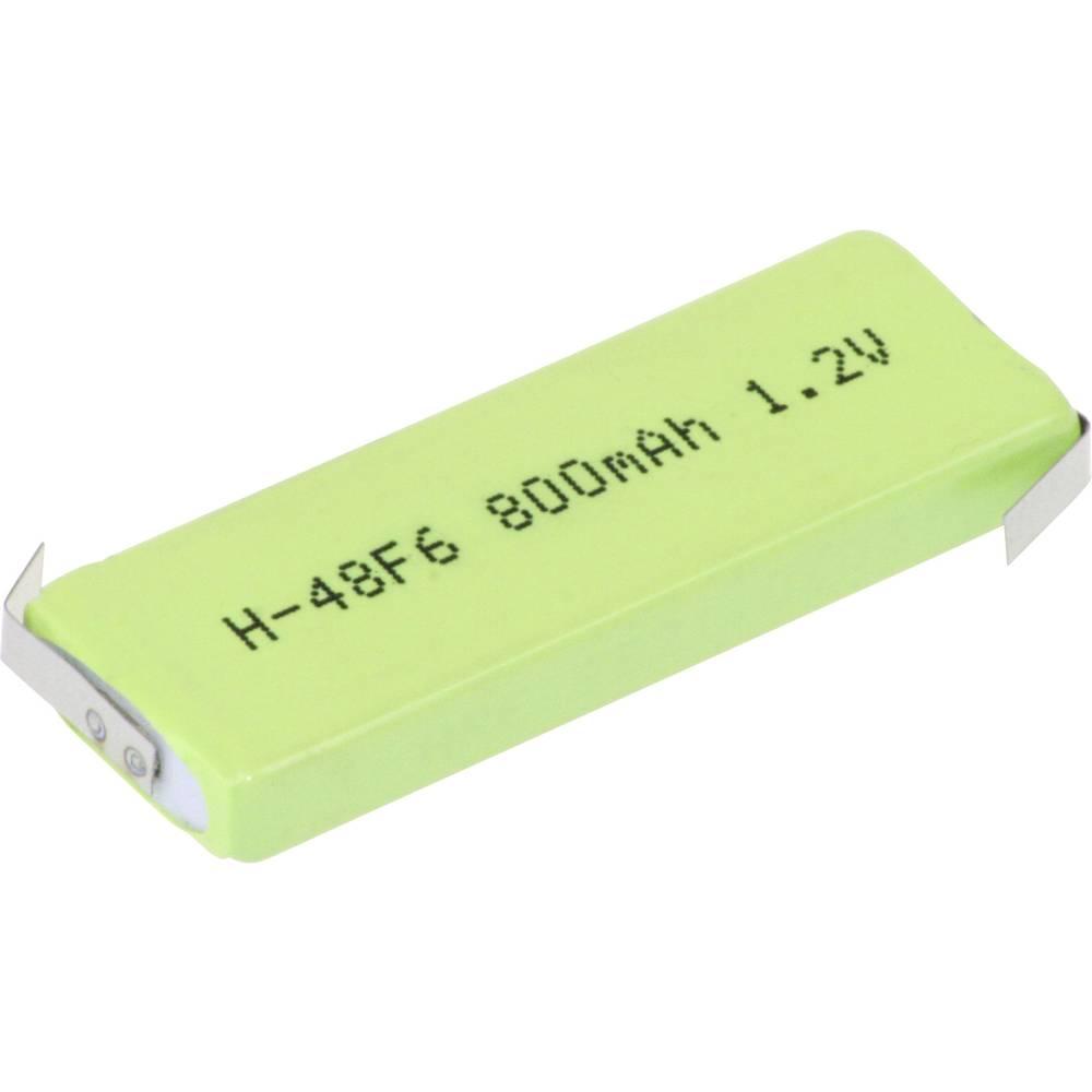 Posebni akumulator Prismatisch Z-spajkalni rep NiMH Mexcel HPE-F6-800 1.2 V 770 mAh