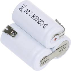 Mexcel Trapez F1x3 aku paket 3x baby (c) z-spajkalni priključek, flaT-top nicd 3.6 V 2500 mAh