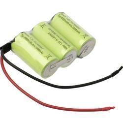 aku paket 3xbaby (c) primeren za visoke temperature, kabel, flat-top nimh Mexcel Reihe F1x3 3.6 V 4000 mAh