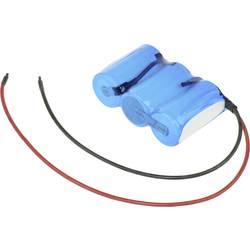 aku paket 3xmono (typ d) primeren za visoke temperature, kabel, flat-top nicd Mexcel Reihe F1x3 3.6 V 4000 mAh