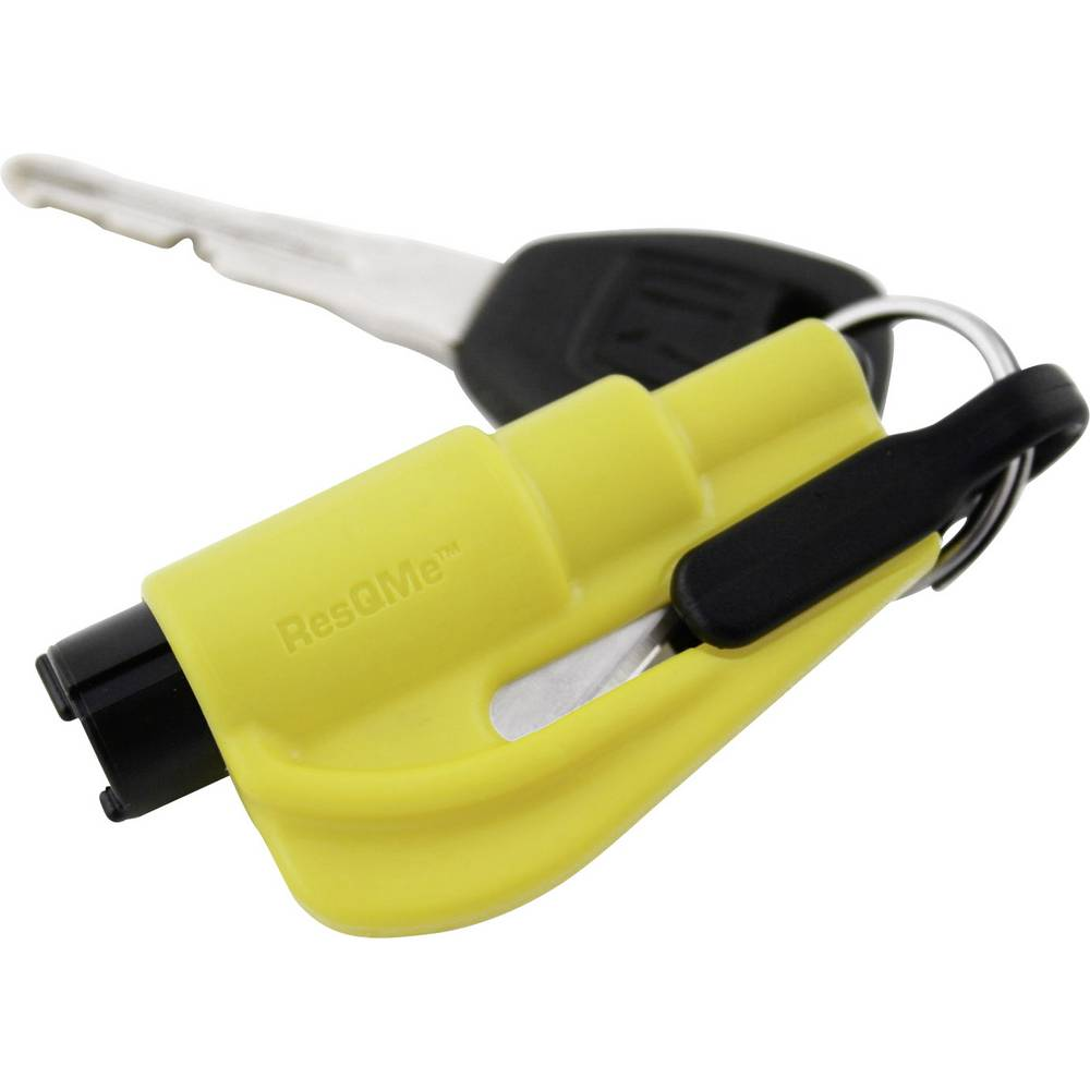 Sikkerhedsværktøj resqme 310332 Rettungstool Selekniv , Rudehammer (L x B x H) 76 x 17 x 32 mm