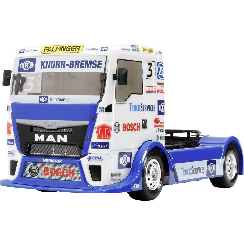 Tamiya Racing Truck Team Hahn Racing Brushed 1:14 RC model tovornjaka na električni pogon, tovornjaška pogon na vsa kolesa , kom