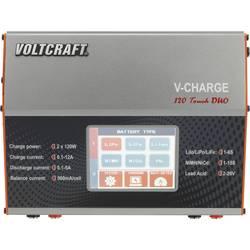 Višenamjenski punjač za modelarstvo 12 V, 230 V 12 A VOLTCRAFT V-Charge 120 Touch Duo LiPo, LiIon, LiFePO, NiCd, NiMH, olovo