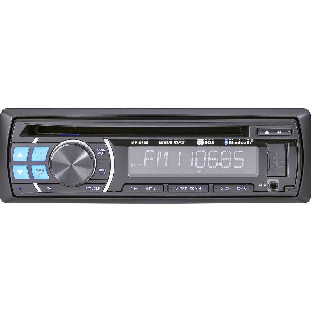 Avtoradio Renkforce RUCD-1804BT