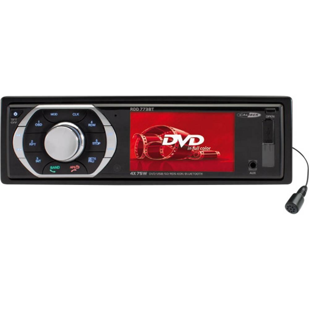 Bilradio Caliber Audio Technology RDD773BT Tilslutning til bagkamera, Håndfrit Bluetooth®-system, inkl. fjernbetjening