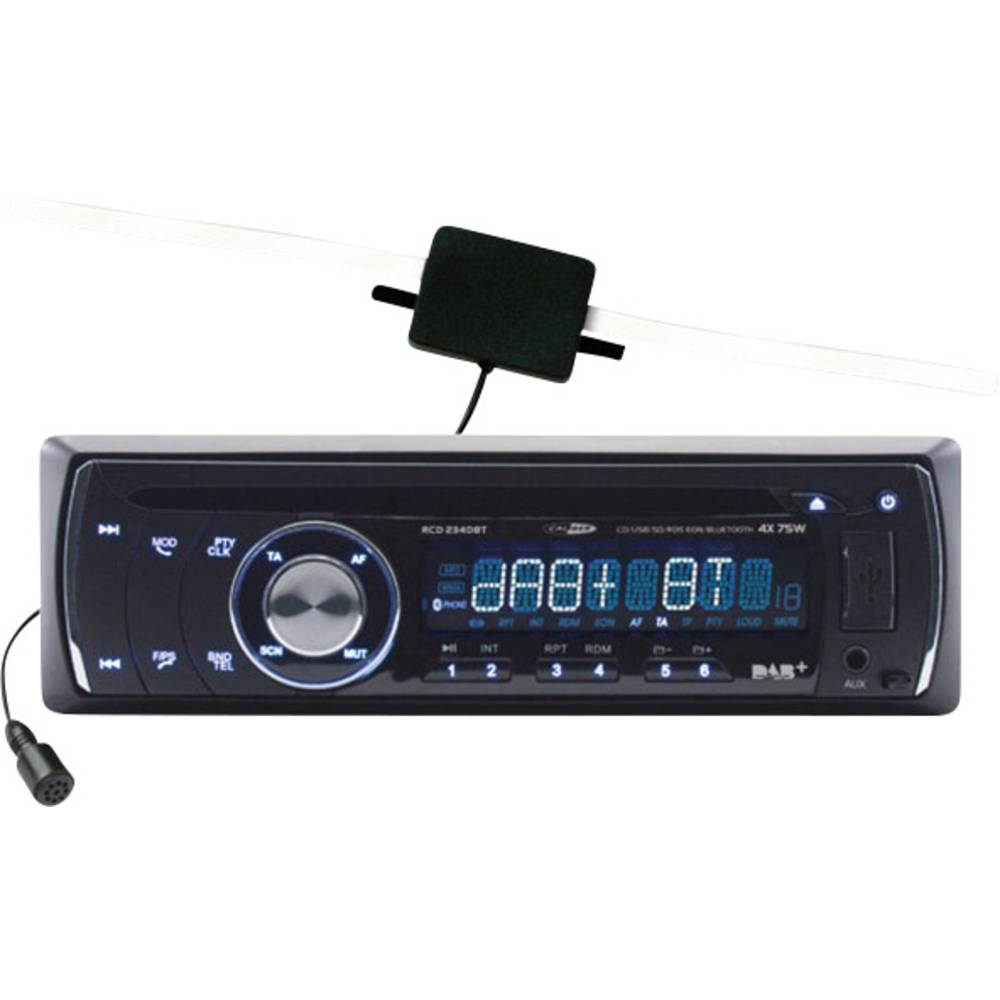 Avto radio Caliber Audio Technology RCD234DBT