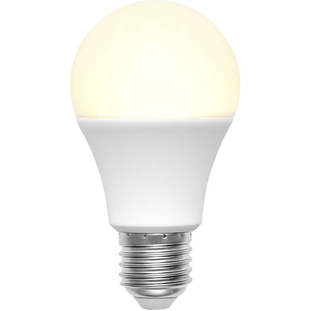 LED žarnica (enobarvna) Basetech 230 V E27 9 W = 60 W topla bela, energ. razred: A+ klasična oblika (premer x D) 60 mm x 110 mm