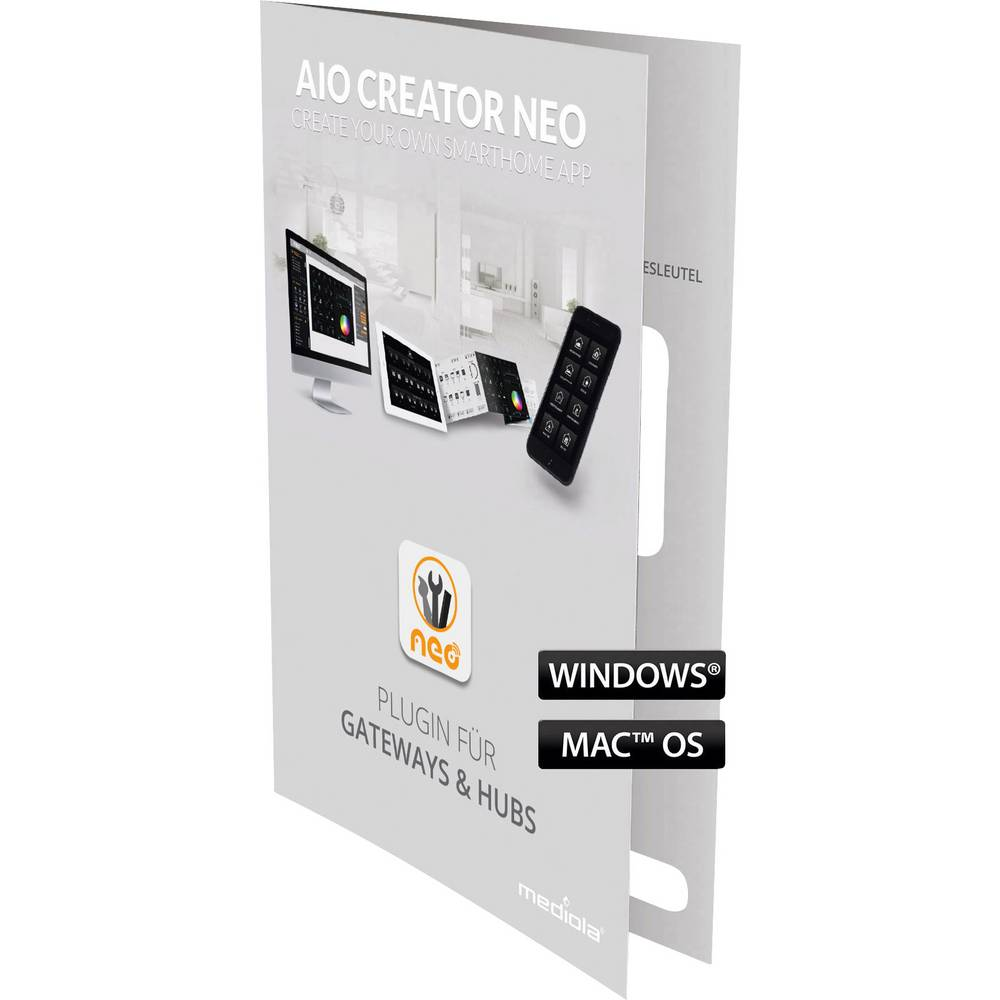 Dodatni softver AIO CREATOR NEO SUM-4123-b Mediola za Max!