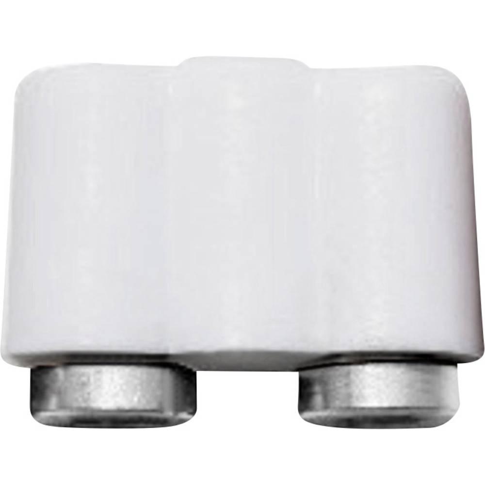 Miniaturelaboratorie-tilslutning Kobling, lige BELI-BECO 61/17ws 2.6 mm Hvid 1 stk