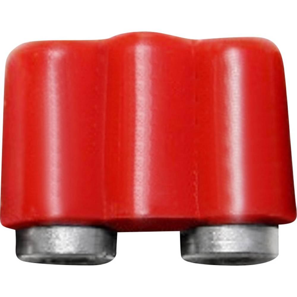 Miniaturelaboratorie-tilslutning Kobling, lige BELI-BECO 61/17rt 2.6 mm Rød 1 stk
