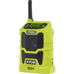 FM Byggradio Ryobi R18R-0 One+ Bluetooth, USB, AUX Ljus-grön
