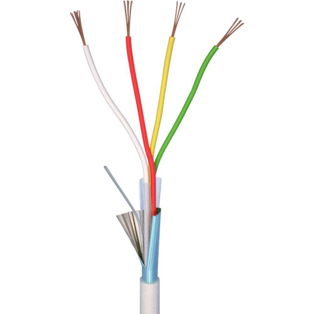 alarm kabel ELAN 20041 Hvid Metervare