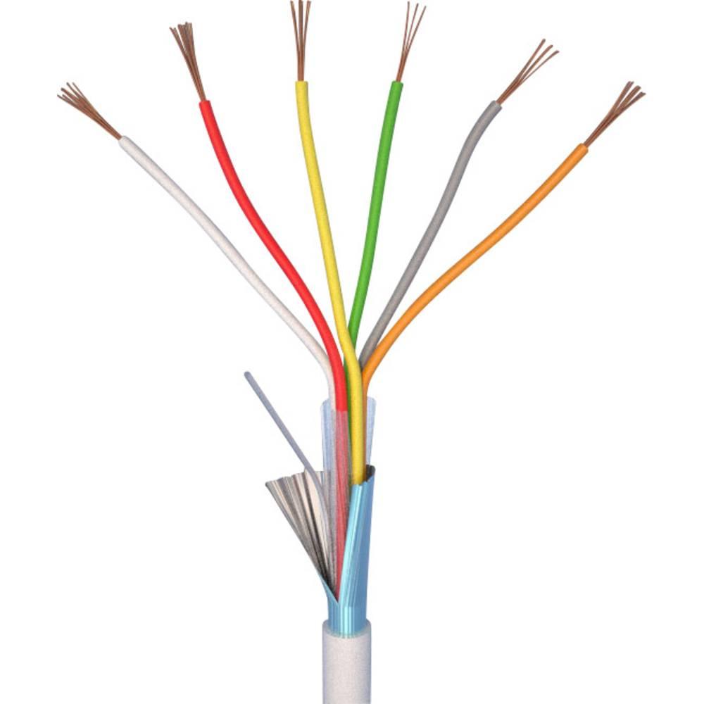 alarm kabel ELAN 20061 Hvid Metervare