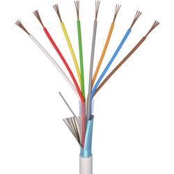 Kabel za alarm LiYY 8 x 0.22 mm bele barve ELAN 20081 meterski